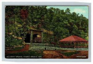 Vintage View of Magnetic Springs, Eureka Springs AR c1920 Calohan Postcard M5