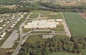 Aerial View, Dover High School, DOVER, Delaware, 40-60´s