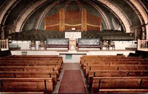 Utah Ogden Mormon Tabernacle Interior