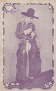 Cowboy Actor TOM MIX, 30s-40s; # 19