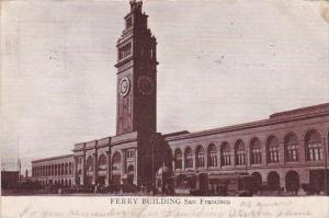 California San Francisco Ferry Building