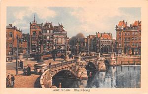 Amsterdam Holland Blauwbrug Amsterdam Blauwbrug