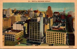 Washington Seattle Business District