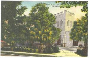 Church Of The God Shepherd, Home Of The Famous Innes Paintings, Tarpon Spring...