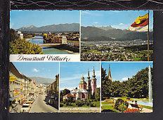 Draustadt Village,Karnten,Austria Postcard BIN