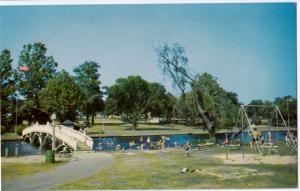 Children's Playground Municipal Park, Salisbury, Maryland, unused Postcard