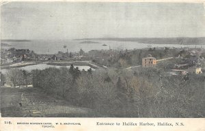 br105033 entrance to halifax harbour canada