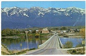 Polson, Montana, on Highway 93