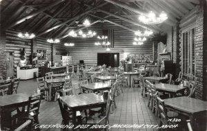 LPM48 Mackinaw City Greyhound Post House   Michigan RPPC Postcard