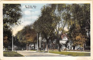 IA Postcard, Iowa Post Card Old Vintage Antique Collectables For Sale West Pa...
