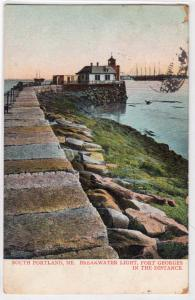 Breakwater Light, South Portland ME