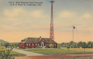 CAMBRIDGE , Ohio, 30-40s; State Highway Patrol Barracks