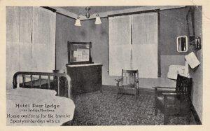DEER LODGE , Montana , 1915 ; Hotel Deer Lodge , Room