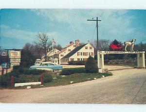 1950's OLD CARS & CHIMNEY CORNER INN RESTAURANT Stamford CT ho4584