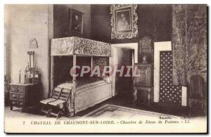 Old Postcard Chaumont Sur Loire Chateau House of Diane de Poitiers