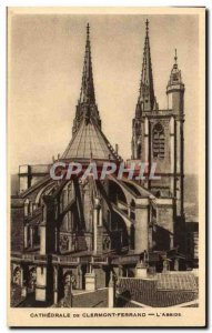 Clermont Ferrand Old Postcard Cathedral L & # 39abside
