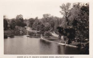 RP, C. W. Mack's Summer Home, Belfountain, Ontario, Canada, 30-40s #9