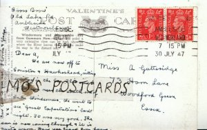 Genealogy Postcard - Gutteridge - Horn Lane - Woodford Green - Essex - Ref 9058A