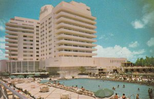 Miami Beach, Florida, 50-60s, Eden Roc Hotel
