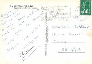 France plusieurs aspects carte postale Arromanches Souvenir du Debarquement