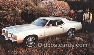 Troy, NY, USA Postcard Post Card 1972 Mercury Cougar