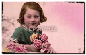 Old Postcard Fun Children Heart