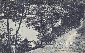 Path along the Shore White Lake NY 1907