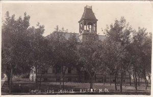 RP: RUGBY , North Dakota ,1900-10s ; South Side School