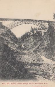 Stoney Creek Bridge, SELKIRK MOUNTAINS, British Columbia, Canada, 1900-1910s (3)