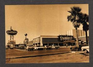 NV Stardust Hotel & Casino LAS VEGAS NEVADA Postcard PC Cars Carte Postale