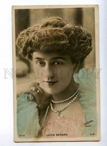 193435 Lucie GERARD French BALLET Dancer REUTLINGER photo OLD