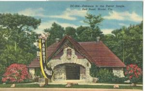 Entrance to the Parrot Jungle, Red Road, Miami, Florida, ...