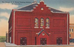 Rhode Island Newport United States Naval Training Station Chapel 1943