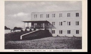 Wisconsin La Crosse Front View Facing 3000 South Ave St. Dominics Monastery A...