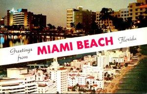 Florida Greetings From Miami Beach The Worrld's Playground