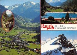 Rauris Wandern Bergsteigen Nationalpark Hohe Tauern Swimming Pool Postcard