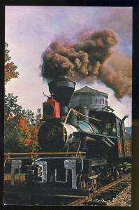 Lincoln,New Hampshire/NH Postcard,Locomotive/Clark's Trading