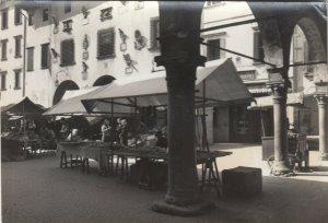 RP: BELLUNO , Italy , 1930-50s ; Piazza del Mercato