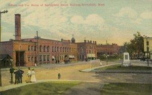 SPRINGFIELD , Massachusetts , 00-10s ; Springfield Street Railway Bldg