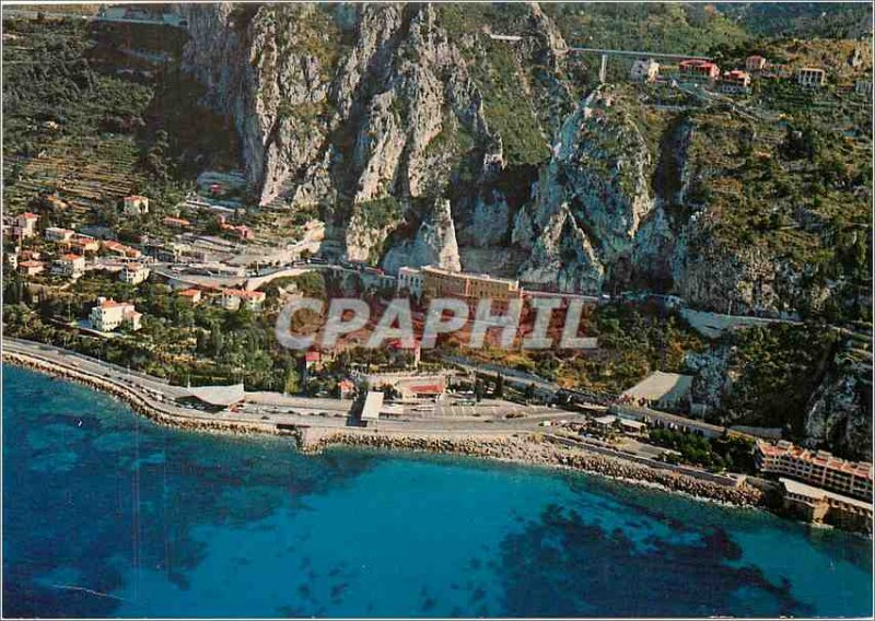Postcard Modern Ponte S Luigi Frontiere Italy France Panorama of the aircraft