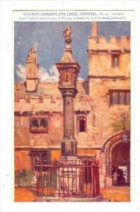 Corpus Christi College, Oxford , England, UK, 00-10s