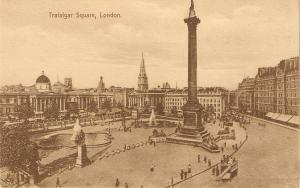 London. Trafalgar Square  Tuuck London Series PC # 2401