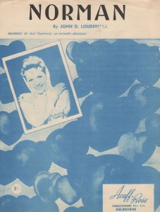 Norman John Loudermilk Sheet Music