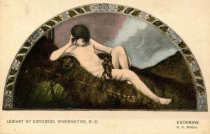 DC - Washington. Library of Congress - Endymion  (Rotograph)