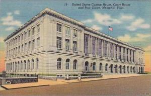 Tennessee Memphis United States Custom House Court House and Post Office