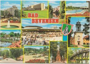 BAD BEVENSEN, multi view, Germany, 1982 used Postcard