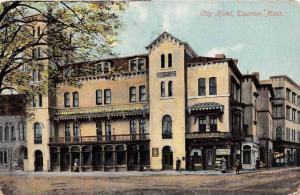 25851 MA, Taunton, 1910, City Hotel