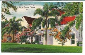Coral Gables, FL - Little French Village - 1952