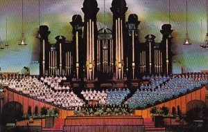 World Famous Tabernacle Choir And Organ Salt Lake City Utah