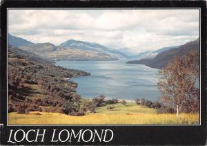 uk1518 loch lomond scotland real photo uk